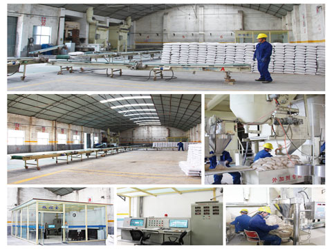 Castable Refractory Production Line In Rongsheng Factory