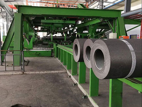 Graphite Electrode Production Line In RS Factory
