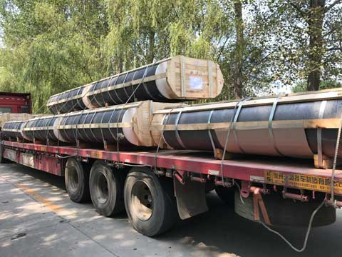 Graphite Electrode Transportation From Rongsheng