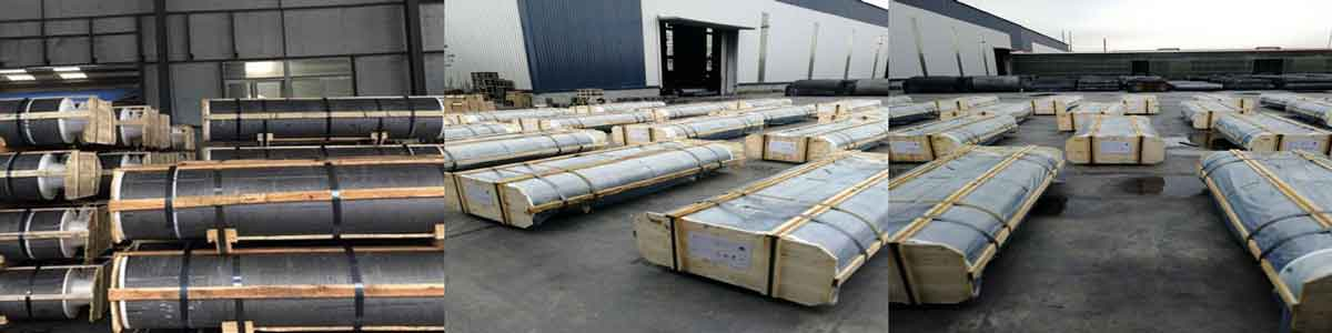 Graphite Electrode With Strong Packaging In RS Factory