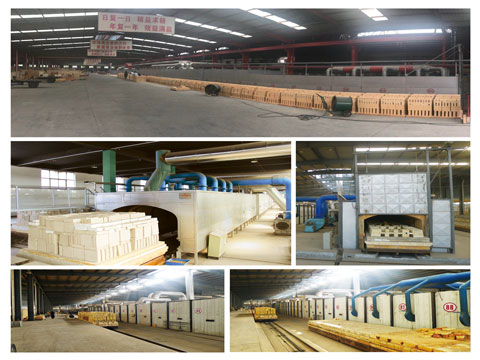 Refractory Brick Production Line In RS Factory